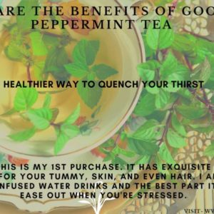 What are the benefits of mint tea or side effect?