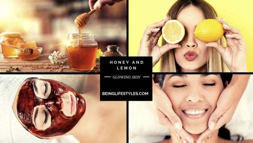 How to make honey and lemon mask