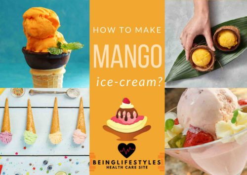 How to make mango ice-cream?