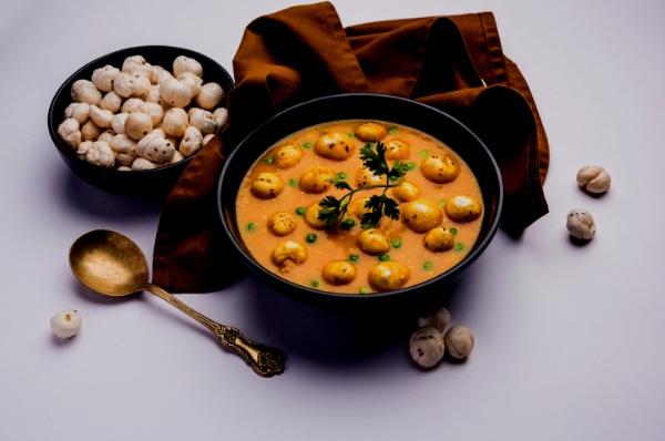 MAKHANA LOTUS SEEDS India's leading superfoods like Haldi, Jaiphal, Makhana, Ghee, Moong dal, Lemon, and Jackfruit.